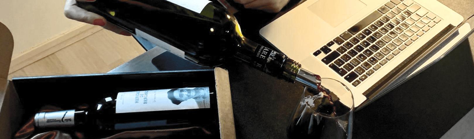 Heb jij ooit online wijn geproefd?
